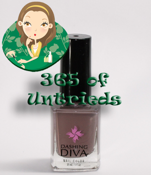 dashing diva tibi couture nail polish 365 untrieds ALUs 365 of Untrieds   Dashing Diva Tibi Couture