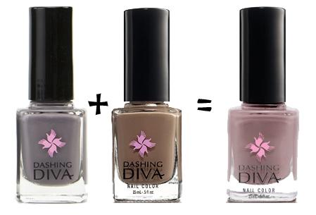 dashing diva tibi couture swatch nail polish ...