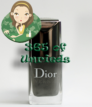 dior gris montaigne nail polish vernis bottle 365 untrieds ALUs 365 of Untrieds   Dior Gris Montaigne