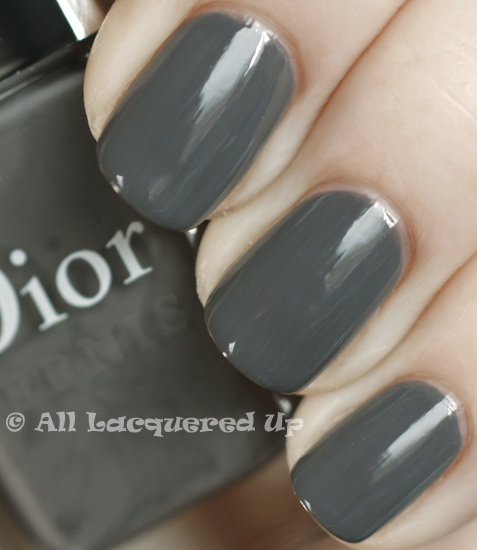 dior gris montaigne swatch nail polish vernis 365 untrieds ALUs 365 of Untrieds   Dior Gris Montaigne