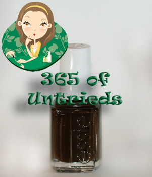 ALU's 365 of Untrieds - Essie Little Brown Dress