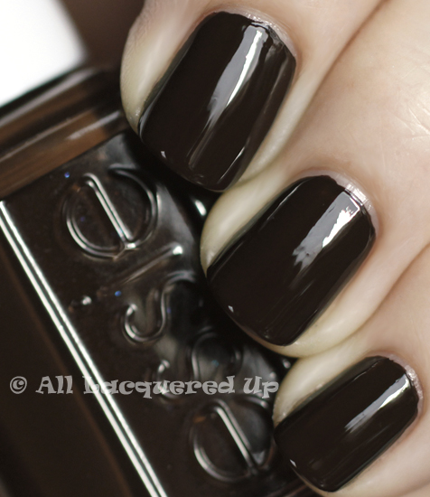 essie little brown dress swatch nail polish 365 untrieds ALUs 365 of Untrieds   Essie Little Brown Dress