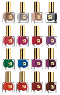 estee lauder pure color spring 2011 nail polish bottles1 Win This   The 16 Piece Estee Lauder Pure Color Nail Lacquer Spring 2011 Collection