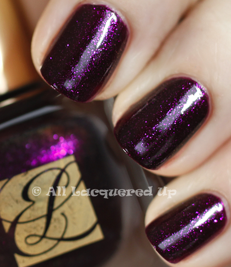 estee lauder ultra violet swatch pure color nail lacquer spring 2011