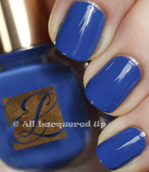 estee lauder wild blue swatch pure color nail lacquer spring 2011