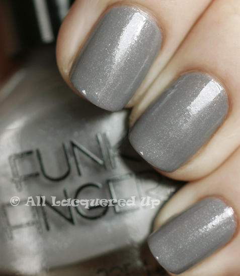 funky fingers elephunk swatch nail polish 365 untrieds
