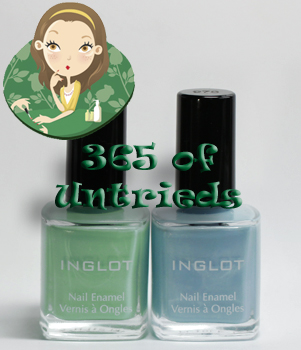 inglot 969 970 nail enamel polish bottle 365 untrieds ALUs 365 of Untrieds   Inglot Pastels 969 & 970 for Easter