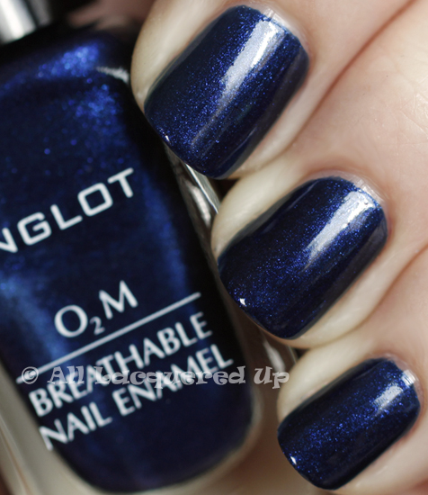 inglot o2m 646 swatch nail polish 365 untrieds