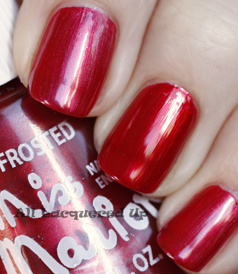miss-marion-garnet-nail-polish-swatch-pre-top-coat