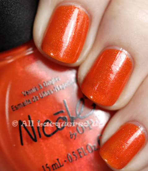 nicole by opi fresh squeezed swatch nail polish 365 untrieds ALUs 365 of Untrieds   Nicole by OPI Fresh Squeezed