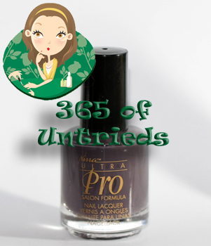 nina ultra pro never glum plum nail polish bottle 365 untrieds ALUs 365 of Untrieds   Nina Ultra Pro Never Glum Plum