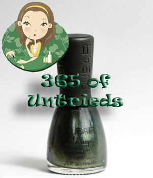 nubar verde nail polish bottle 365 untrieds ALUs 365 of Untrieds   Nubar Verde