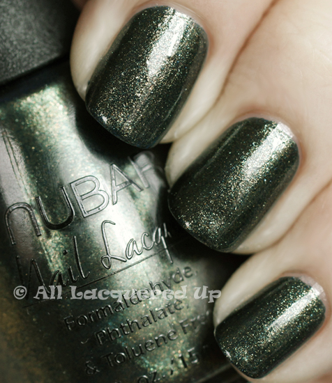 nubar verde swatch nail polish 365 untrieds