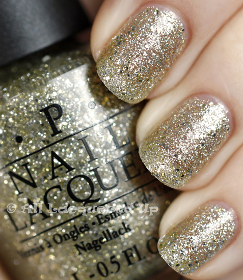 opi spark de triomphe swatch serena glam slam nail polish OPI Serena Williams Glam Slam France Swatches & Review