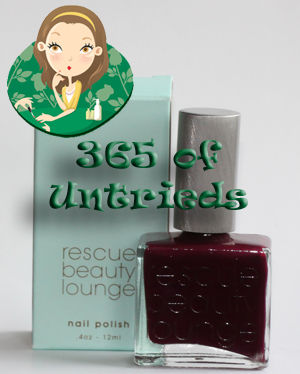 rescue beauty lounge drifter nail polish bottle 365 untrieds