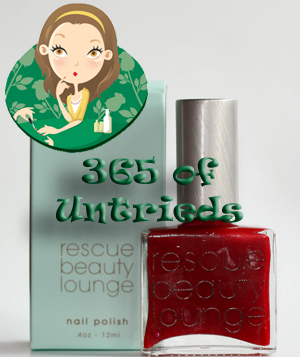 rescue beauty lounge glamourpuss nail polish bottle 365 untrieds