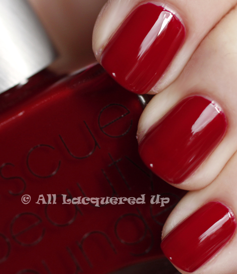 rescue beauty lounge glamourpuss swatch nail polish 365 untrieds
