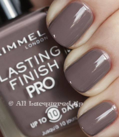 rimmel london steel grey swatch nail polish 365 untrieds ALUs 365 of Untrieds   Rimmel London Steel Gray