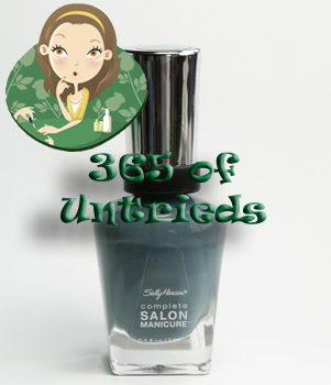 sally hansen gray by gray nail polish complete salon manicure ALUs 365 of Untrieds   Sally Hansen Gray by Gray