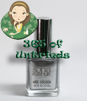 sonia kashuk smoke and mirrors nail polish bottle 365 untrieds 365 of Untrieds   Sonia Kashuk Smoke and Mirrors with OPI Navy Shatter