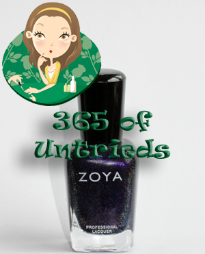 zoya julieanne nail polish bottle 365 untried ALUs 365 of Untrieds   Zoya Julieanne