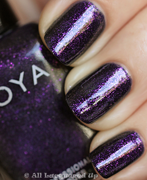 zoya julieanne swatch from the zoya wicked nail polish collection for fall 2010