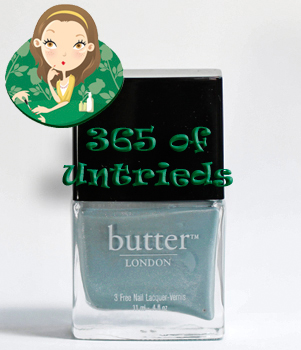 butter london lady muck nail polish bottle 365 untrieds 1 ALUs 365 of Untrieds   butter LONDON Lady Muck