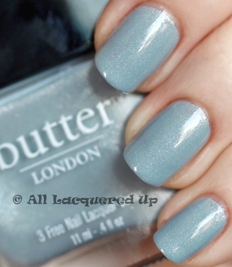 butter london lady muck swatch nail polish spring 2011 1 ALUs 365 of Untrieds   butter LONDON Lady Muck