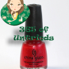 ALU's 365 of Untrieds – China Glaze Rapture