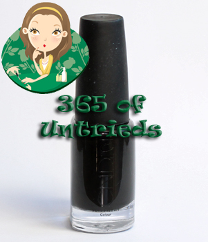 cnd blackjack nail polish bottle colour effects ALUs 365 of Untrieds   CND Blackjack