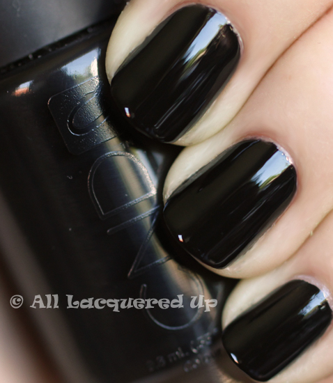 cnd blackjack swatch nail polish ALUs 365 of Untrieds   CND Blackjack