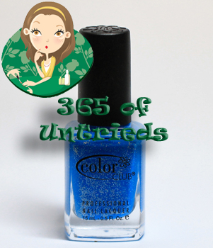 color club otherwordly nail polish starry temptress spring 2011 ALUs 365 of Untrieds   Color Club Otherworldly