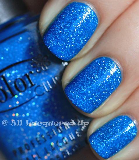 color club otherwordly swatch nail polish neon starry temptress ALUs 365 of Untrieds   Color Club Otherworldly