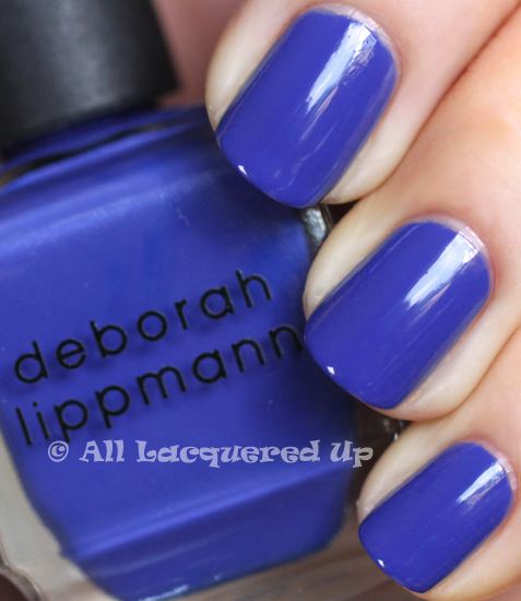 deborah lippmann i know what boys like nail polish swatch from the summer 2011 collection