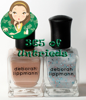 deborah lippmann naked glitter in the air nail polish spring 2011 ALUs 365 of Untrieds   Deborah Lippmann Naked & Glitter in the Air