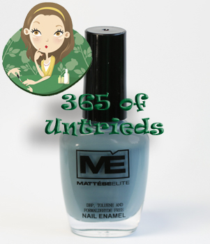 mattese elite attitude nail polish 365 untrieds ALUs 365 of Untrieds   Mattese Elite Attitude