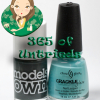 ALU's 365 of Untrieds – Models Own Moody Grey and China Glaze Crushed Candy Crackle Glaze