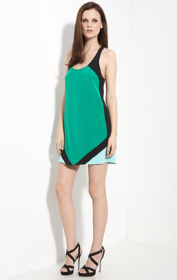 nordstrom colorblock color block dress ALUs 365 of Untrieds   Color Block Nails with Orly Ancient Jade