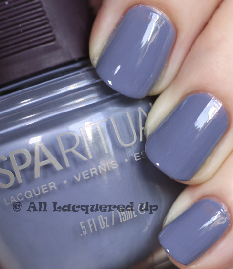 sparitual a world of compassion nail polish swatch from the sparitual imagine collection for fall 2010