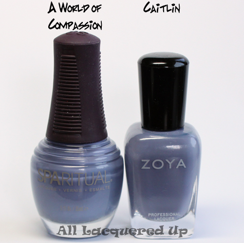 sparitual a world of compassion comparison with zoya catilin