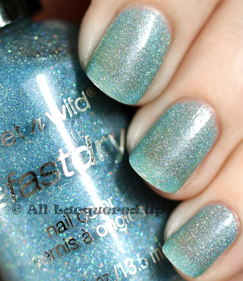 wet n wild blue wants to be a millionaire swatch wet n wild fastdry nail polish