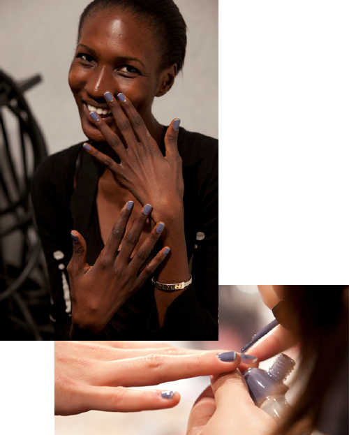 zoya caitlin dove french twist manicure joy cioci nyfw haven ALUs 365 of Untrieds   French Twist Manicure with Zoya Caitlin & Dove