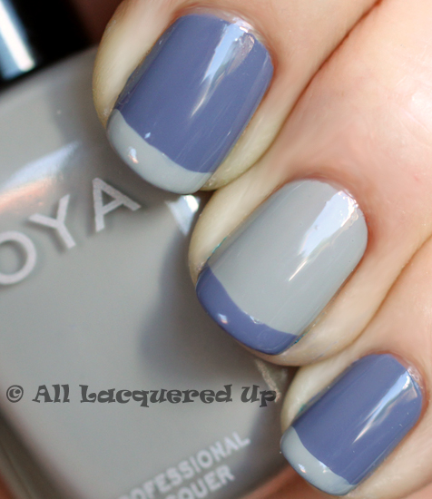 zoya dove caitlin swatch from the zoya intimate nail polish collection for spring 2011