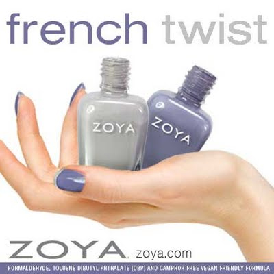 zoya french twist manicure promo Try the Zoya French Twist Manicure for FREE