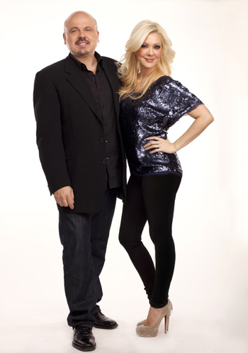 Katie Cazorla and Walter Afanasieff stars of Nails Files - TV Guide Network
