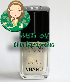 chanel pearl drop nail polish chanel le vernis spring 2011 ALUs 365 of Untrieds   Chanel Pearl Drop from Spring 2011