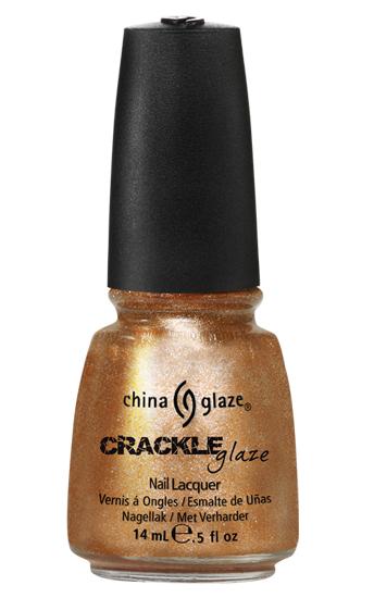 china glaze CRACKED MEDALLION crackle metal nail polish