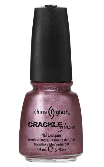 china glaze HAUTE METAL crackle metal nail polish
