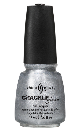 china glaze PLATINUM PIECES crackle metal nail polish