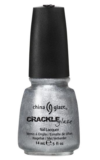 china glaze PLATINUM PIECES crackle metal nail polish